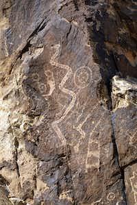 The Parowan Gap Petroglyphs are in Utah.(Richard Friedland)