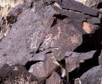 Petroglyph National Monument stretches 17 miles along Albuquerque in New Mexico's West Mesa.(Richard Friedland)