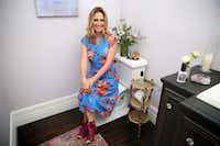 Suzy Batiz, founder of Poo-Pourri, poses for a photograph at her home in Dallas on Thursday, June 15, 2017.(Rose Baca/Staff Photographer)