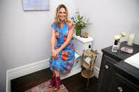 Suzy Batiz, founder of Poo-Pourri, poses for a photograph at her home in Dallas on Thursday, June 15, 2017. (Rose Baca/The Dallas Morning News)