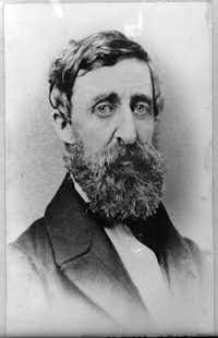 Henry David Thoreau(Library of Congress)