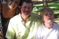 "Garth Goodwin and his family.(Facebook/Garth ""Outlaw"" Goodwin)"