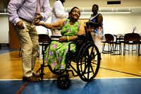 NEW YORK, NY - JUNE 23:  Maria Garcia, 83, dances in her wheelchair at a Senior Citizens Prom sponsored by the MetroPlus, a prepaid health services plan, on June 23, 2017 in New York City. The Harlem seniors were provided with Medicare education and healthcare options at the afternoon event which included dancing, contests and a band. The recently proposed GOP healthcare bill would make significant changes in Medicaid and some changes to Medicare.  (Photo by Spencer Platt/Getty Images)(Spencer Platt/Getty Images)