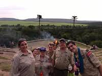 Troop 517 has been in Arlington for 25 years.(Boy Scout Troop 517)