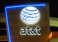 AT&T gained ground in this year's Top 150 ranking on perennial leader Exxon Mobil. (Ashley Landis/The Dallas Morning News)