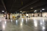 New space behind the Weir's Furniture Outlet store in Farmers Branch. The store is expanding into this area.(Alan Arce/Weir's Furniture)