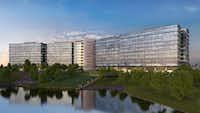 Pioneer Natural Resources' new Irving headquarters will open in 2019.(Duda Paine Architects )
