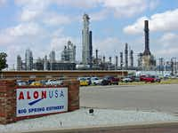 "<p><span style=""font-size: 1em; background-color: transparent;"">Dallas-based Alon USA Energy operates this refinery in Big Spring. The company is being bought by Tennessee-based Delek US Holdings.</span></p>(Alon USA Energy)"