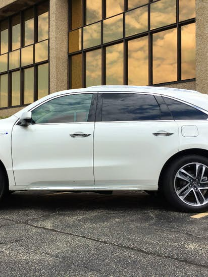 Acura S Mdx Hybrid Stands Out In Three Row Luxury Cl