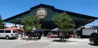 Exterior view of The Shed at the Dallas Farmers Market(Ron Baselice/Staff Photographer)