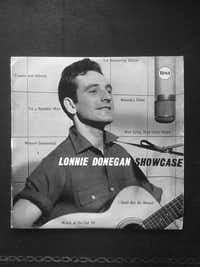 The jacket of Lonnie Donegan's album <i>Showcase</i> from <i> Roots, Radicals and Rockers: How Skiffle Changed the World</i>, by Billy Bragg(Faber & Faber)
