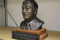 A bronze bust of Charles Tandy, longtime chairman and CEO of Tandy Corp., is also on the auction block.<div> </div>(UBid Estate & Auction Services)