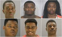 <p>From top left: Devontae Owens, Darius Fields, Laporshya Polley. From bottom left: Kendall Perkins, Laquon Wilkerson, Desmond Jones.</p>