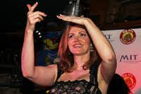Kellie Rasberry partied with her friends and fans at her birthday bash in 2015 at Big Al's McKinney Avenue Tavern.(Jerry McClure/Special Contributor)