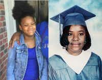 Shavon Randle, left, was reported missing June 28, 2017. Lisa Rene, right, went missing Sept. 24, 1995. (Courtesy)