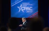 Sean Hannity at  the Conservative Political Action Conference in February. (Tribune News Service)