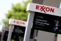 "Exxon Mobil has been sharing concerns about how some parts of the Russia sanctions bill ""will further disadvantage U.S. companies compared to our non-U.S. counterparts.""(Mark Humphrey/The Associated Press)"