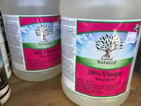20 percent vinegar labeled for organic weed control. (Howard Garrett/Special Contributor )