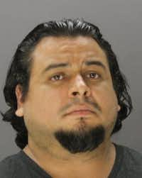 Julio Ruvalcaba is jailed in lieu of $250,000 bail.(Dallas County Jail)