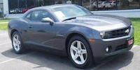 This is not the actual suspect vehicle, which police want to locate.(Dallas police)
