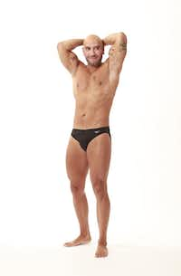 Neinast's personal trainer before his death, Robert Elorduy, photographed in 2011 for a reader swimsuit competition in 'Quick.'(Jason Janik/Special Contributor )