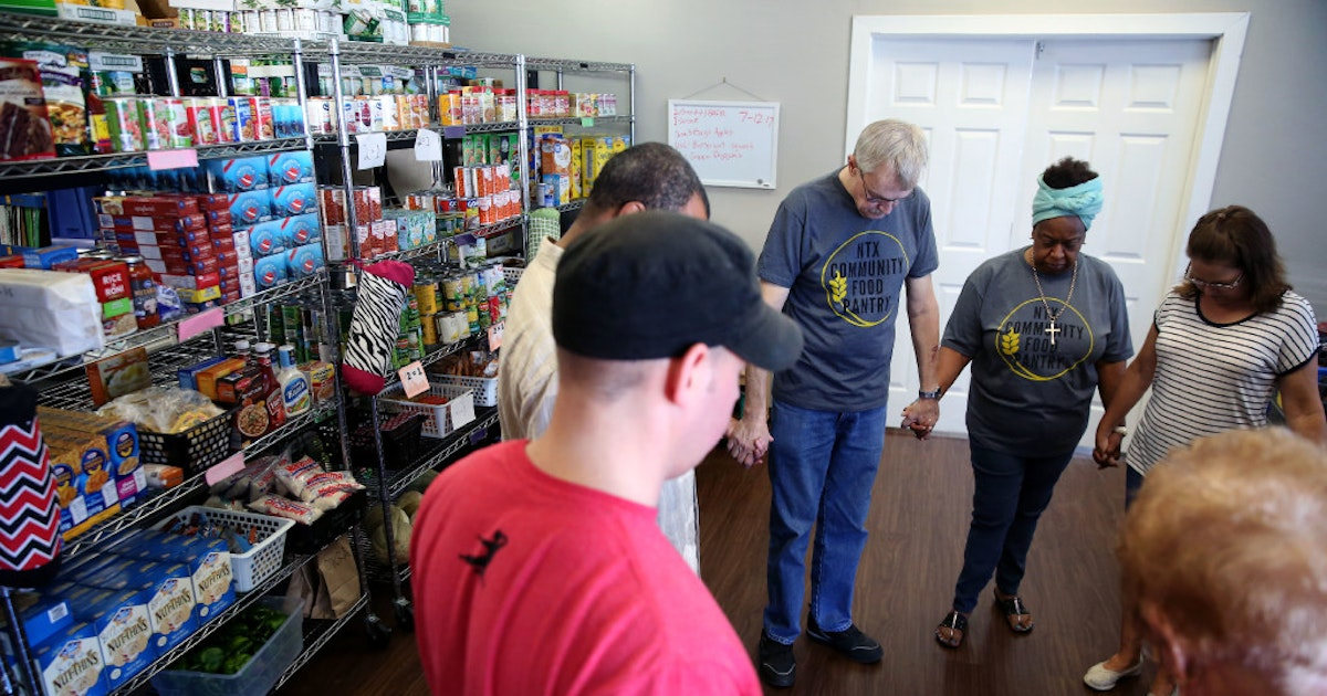 north texas food pantry needs money to remain in current location