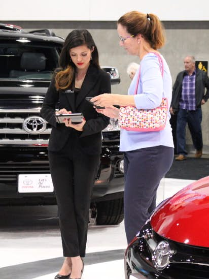 Detroitbased Auto Show Talent Agency Follows Toyota To Plano - Plano car show