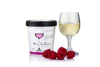 Mercer's Dairy makes wine-spiked ice cream, with flavors like Red Raspberry Chardonnay,  Riesling and Chocolate Cabernet. (Mercer's Dairy)