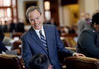 "Speaker of the House Joe Straus, R-San Antonio, has for months opposed the ""bathroom bill,"" saying the proposal could spark boycotts that could hurt the state's economy. Speaking of the high suicide rate often faced by transgender people, he also said, ""I won't have the suicide of a single Texan on my hands.""  The Legislature is heading into special session on Tuesday, July 25 and conservative groups have promised to target Straus and his key House lieutenants during March's GOP primaries if the issue doesn't pass. (Eric Gay/The Associated Press)"