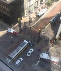 "<p><span style=""font-size: 1em; background-color: transparent;"">Workers in Renaissance Tower got a bird's-eye view of the crash.</span></p>"
