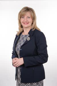 Trisha Cunningham is the new president and CEO of the North Texas Food Bank.(Jorge Martinez)