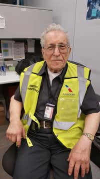 "American Airlines mechanic Azriel ""Al"" Blackman(Courtesy American Airlines)"