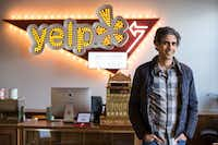 Jeremy Stoppelman, chief executive of Yelp, in its office in San Francisco on March 28, 2016.(Andrew Burton/The New York Times)