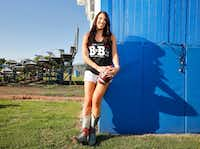 Erin Finegold White, founder of BvB Dallas, expects to raise $600,000 for four local Alzheimer's causes with the BvB Dallas Powder-Puff Football Game at the Cotton Bowl on Aug. 12.(Nathan Hunsinger/Staff Photographer)