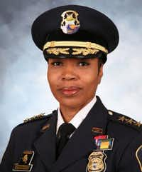 Renee Hall, most recently deputy chief of the Detroit police department.