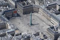 In Paris, the Place Vendome and its Napoleon Bonaparte column.(JEAN-SEBASTIEN EVRARD/AFP/Getty Images)