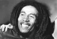 Bob Marley in 1976.(Agence France-Presse)