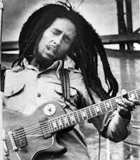 Bob Marley in 1979.(The Associated Press)