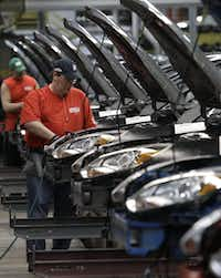 Michigan's automotive heritage means it has the most engineers per capita in the country, and an increasingly friendly business environment.(Paul Sancya/The Associated Press)