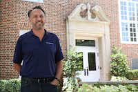 Gary Hooker, chief marketing officer at Imaginuity, got the idea for Community Connect after getting an Amazon Echo for Christmas. (Rose Baca/The Dallas Morning News)