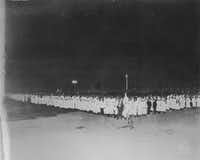 A Ku Klux Klan gathering at the Texas State Fair in 1923.(Rogers Photo/Dallas Public Library - Texas/Dallas History and Archives Division)