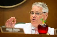 "<p></p><p></p><p>Rep. <a name=""firsthit"" id=""firsthit""></a>Dan Huberty, R-Kingwood, talks about HB 21, relating to the public school finance system, at a House Public Education Committee hearing at the Capitol in Austin on Monday.</p><br><p></p><p></p>(Jay Janner/Austin American-Statesman)"