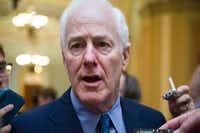 Senate Majority Whip John Cornyn of Texas hasn't criticized President Donald Trump often. But this week he told reporters that the president would risk his entire agenda in Congress should he fire Attorney General Jeff Sessions. Trump has been needling Sessions as a failure and a mistake for days, faulting him for recusing himself from the widening investigation of ties between Trump and Russia.(Cliff Owen/AP)