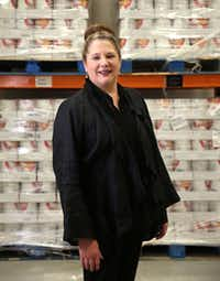 Diane Skipworth, director of detention support services, is the registered dietitian behind the county's jail food system. (Rose Baca/Staff Photographer)