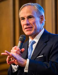 Gov. Gregg Abbott has asked DPS to retract its plan to charge fees for forensic testing.  (Ashley Landis/Staff Photographer)