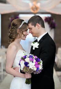neely and andrew moldovan at their wedding in october 2014andrea politoandrea