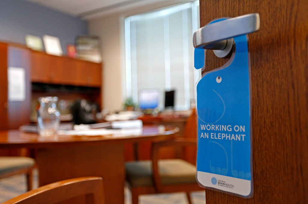 A Placard Hangs On A Door Handle Of Assistant Chief Tammie Hughesu0027 Office  At The Dallas Police Department Headquarters In Dallas, Wednesday, July 19,  2017.