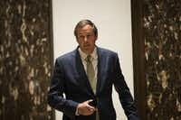 Ray Washburne, a fundraiser for the Trump campaign, visited Trump Tower in New York City on Nov. 16. Washburne was appointed by Trump to be head of the Overseas Private Investment Corp. and awaits Senate confirmation.(File 2016 Photo/Getty Images)
