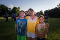 Miles (left), Chelsa (center) and Marilyn Morrison on July 7, 2017, in Little Elm. The Morrisons are one of numerous families of transgender youth who participate in the group DFW Trans Kids & Families.(Ryan Michalesko/Staff Photographer)