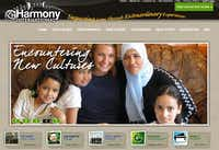 <p></p><p>Harmony International's home page before it shut down after the bankruptcy</p>